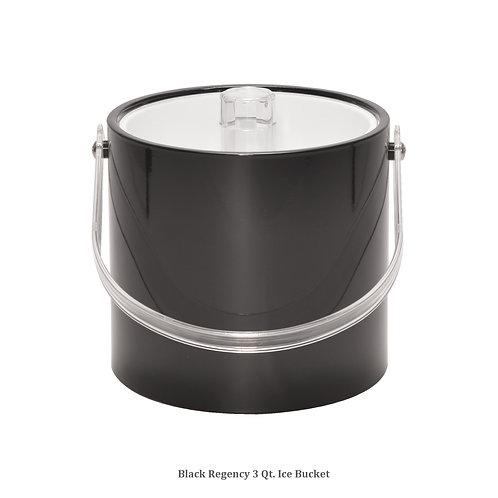 Black Regency 3 qt. Ice Bucket