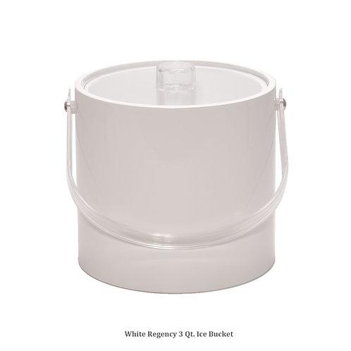 White Regency 3 qt. Ice Bucket