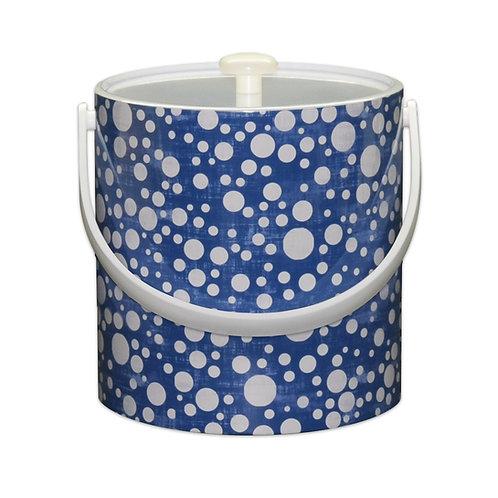Blue Bubbles 3 Qt. Ice Bucket