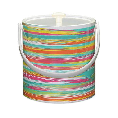 Stripes 3 Qt. Ice Bucket
