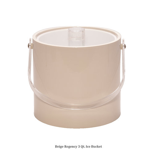 Beige Regency 3 qt. Ice Bucket