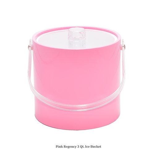 Pink Regency 3 qt. Ice Bucket