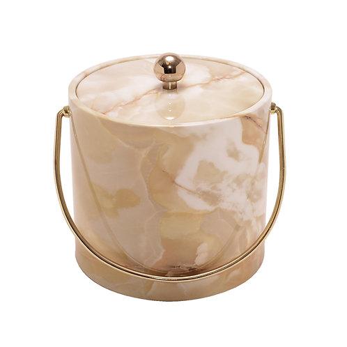 Golden Marble 3 qt. Ice Bucket