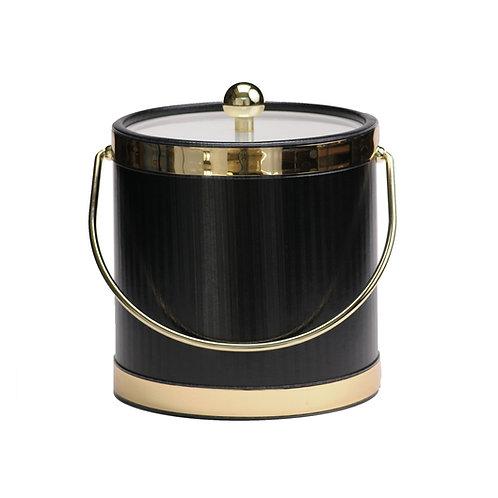 Black Silhouette 3 qt. Ice Bucket
