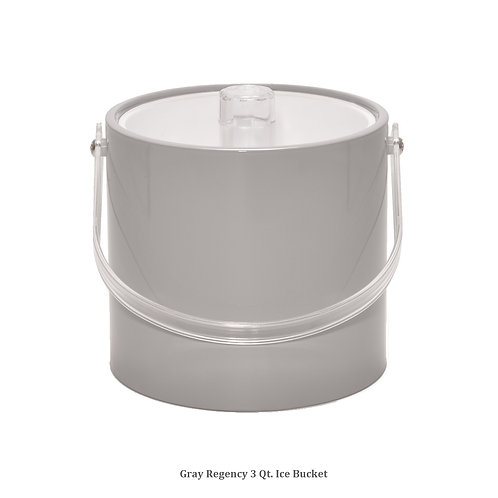 Grey Regency 3 qt. Ice Bucket