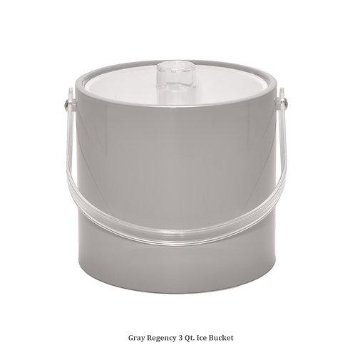 Grey Regency 3 qt. Ice Bucket