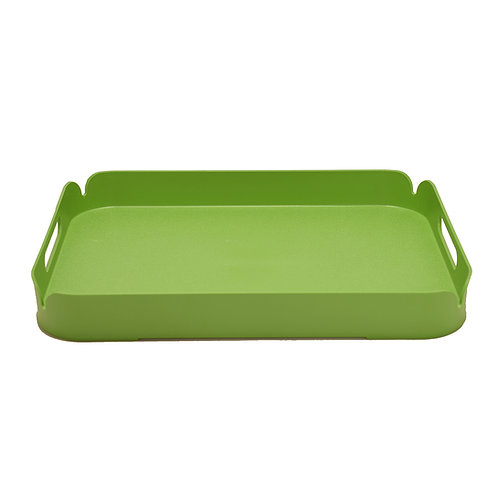 Green Plastic Tray