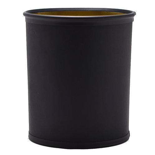 Black Italia 13 Quart Waste Basket