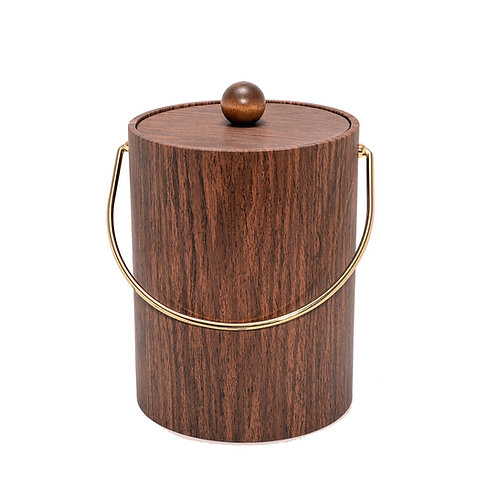 Walnut Grain 5 qt. Ice Bucket