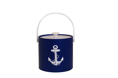 Blue Calf White Anchor 3 qt. Ice Bucket