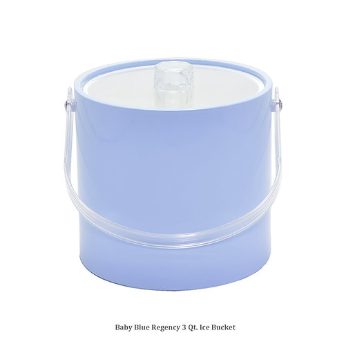 Baby Blue Regency 3 qt. Ice Bucket