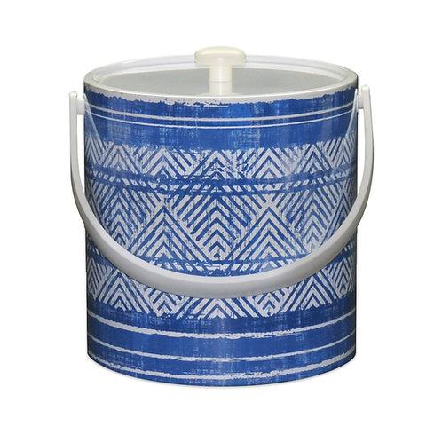 Blue Weave 3 Qt. Ice Bucket