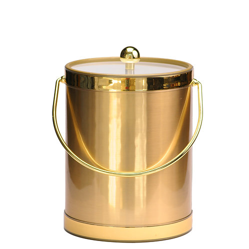 Brushed Gold 5 qt. Ice Bucket