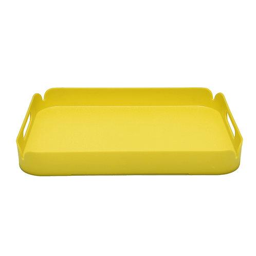 Yellow Plastic Tray
