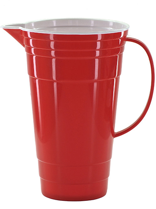 Red Party Pitcher 64 oz.