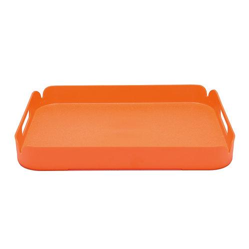 Orange Plastic Tray