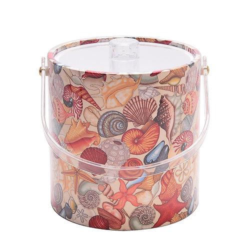 Sea Shells 3 qt. Ice Bucket