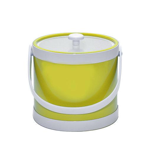 Yellow Springtime 3 qt. Ice Bucket