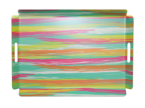 Stripes 16 x 22 Tray