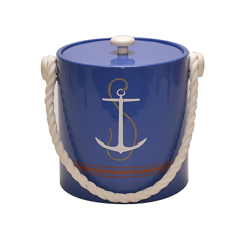 Anchor Blue 3 qt. Ice Bucket