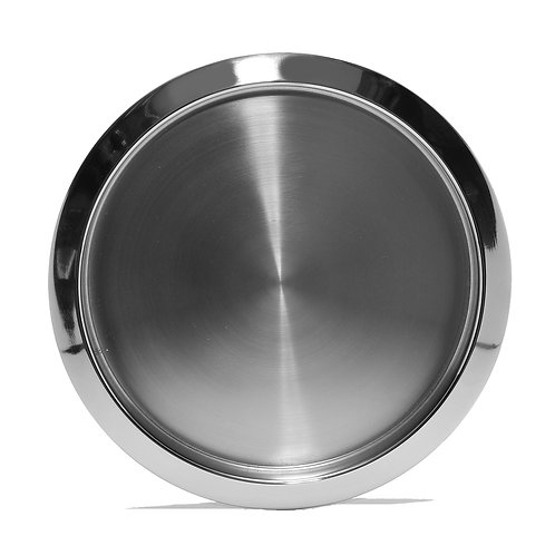 Stainless Steel round 16 Inch Tray