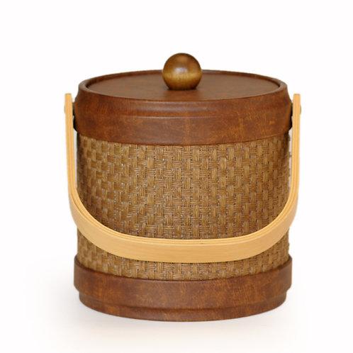 Samoa Acorn Wicker 3 qt. Ice Bucket