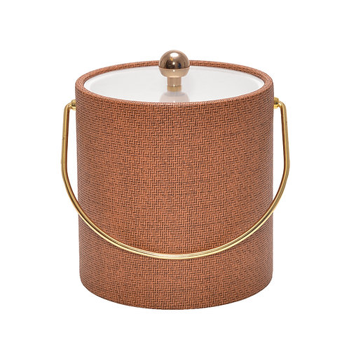 Cane Beechwood Wicker 3 qt. Ice Bucket