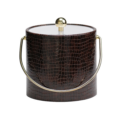 Truflle Faux Croc Skin 3 Quart Ice Bucket