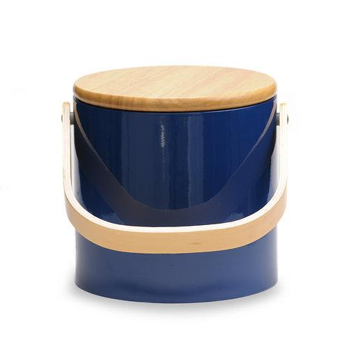 Blue Beachwood 3 qt. Ice Bucket