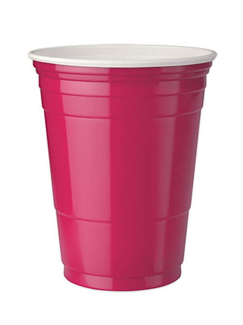 Pink Party cups 16 oz. Set of 4