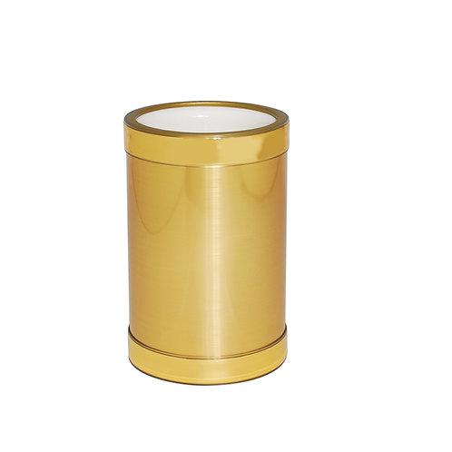 Brushed Gold Wine Chiller