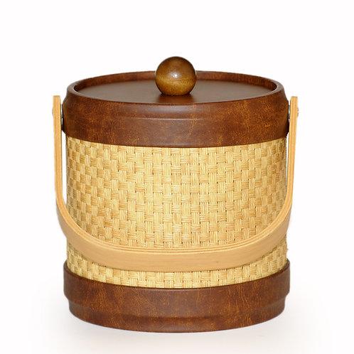 Samoa Wheat Wicker 3 qt. Ice Bucket