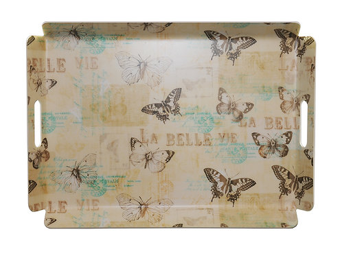 Butterfly Design 16 x 22 Tray