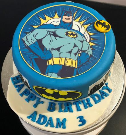 4me gluten free batman birthday cake