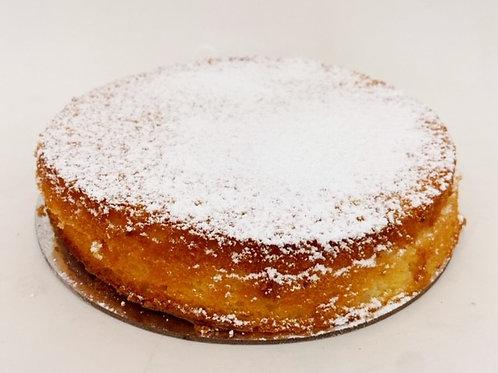 lemon cake - round