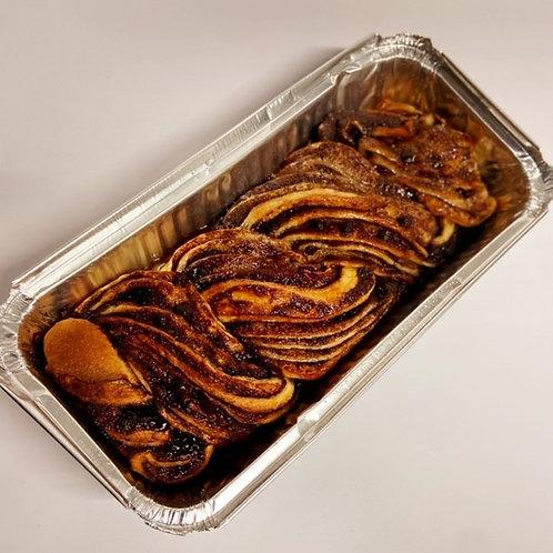chocolate babke rectangular