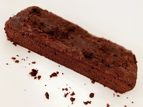 chocolate brownie log - 10 x 20cms
