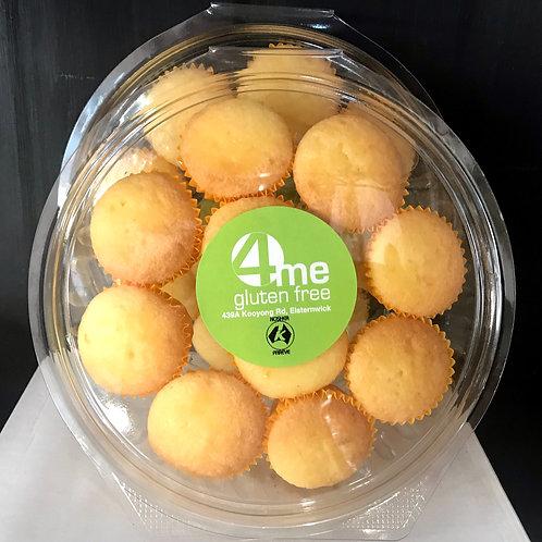 mini lemon muffins
