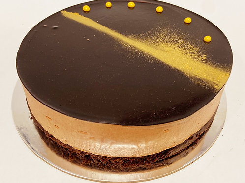 chocolate mousse cake 8 inch