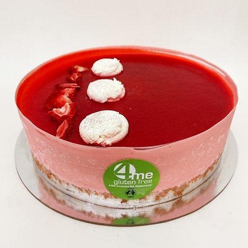 "strawberry mousse cake 8"""