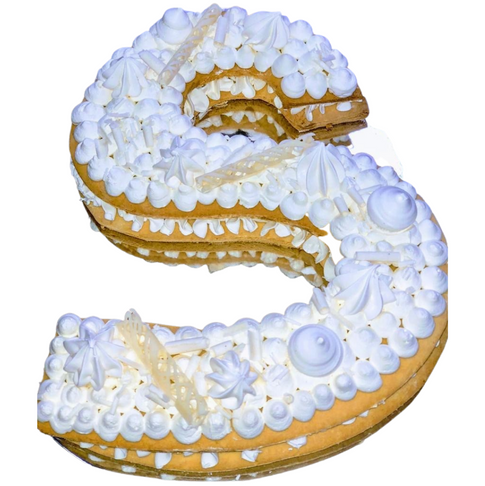 s shape cake