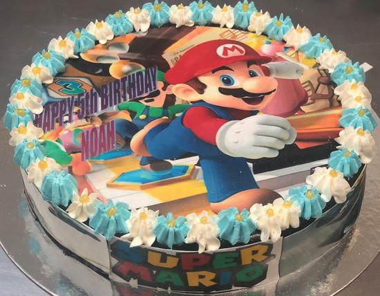 4me gluten free super mario cake