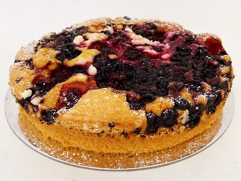mixed berry cake 8""