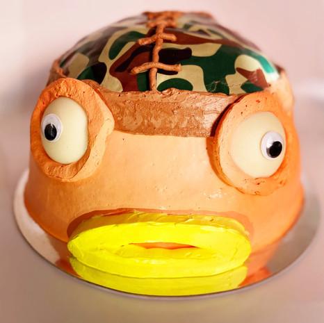 fishsticks fortnite themed cake