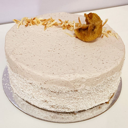 coconut and fig cake