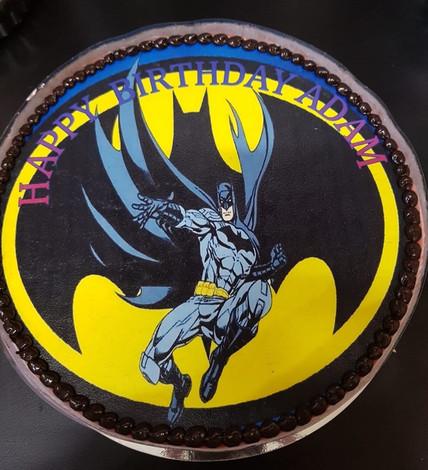 4me gluten free batman themed birthday cake