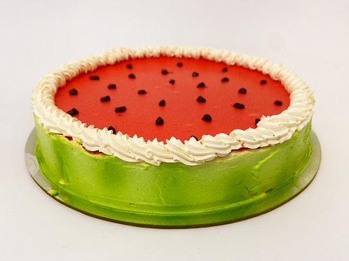 watermelon mousse cake