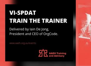VI-SPDAT - Train the Trainer