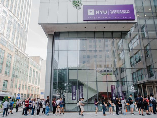 NYU Tandon School of Engineering Admissions Fall 2021