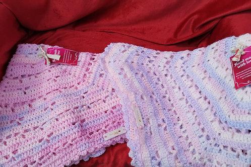 Gradient hexagonal blanket